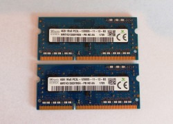 8GB 16GB PC3 DDR3L notebookové pamäte SODIMM Samsung Hynix