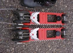 Kolieskové bežky, stav nové, typ viazania N75