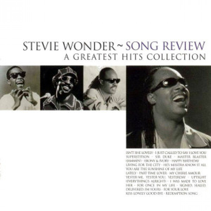 Wonder, Stevie - Song Review (A Greatest Hits Collection)