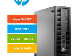 HP EliteDesk 800 G2 i5-6500 8GB 240GB